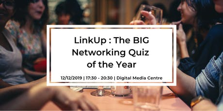 Link Up : The BIG Networking Quiz of the Year tickets