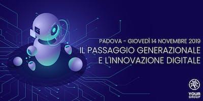 Il passaggio generazionale e l'innovazione digitale