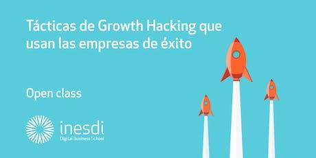 Tácticas de Growth Hacking que usan las empresas de éxito.  entradas