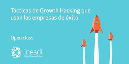 Tácticas de Growth Hacking que usan las empresas de éxito.