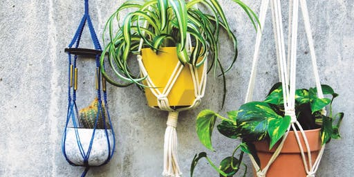 Gratis DIY-Workshop: Makramee Blumenampel oder Schlüsselanhänger