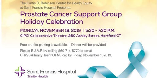 Prostate Cancer Support Group  Holiday Celebration