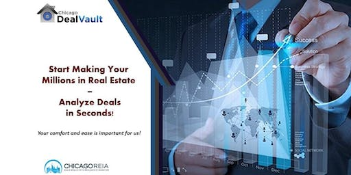 Start Making Your Millions in Real Estate – Analyze Deals in Seconds!