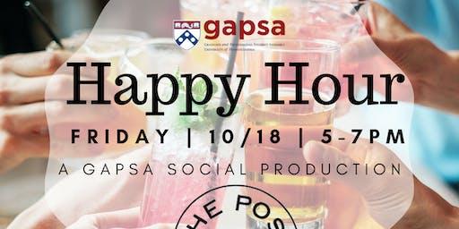 GAPSA's Pre-Halloween Happy Hour