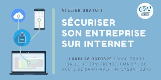 """Atelier gratuit : """"Sécuriser mon entreprise sur internet"""""""