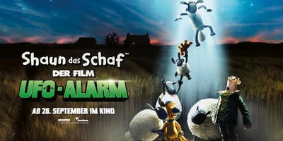 Familienkino: Shaun das Schaaf - Ufo Alarm