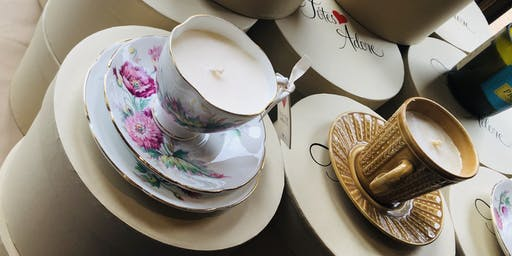 Tea Cup Candle  & Stocking Making Workshops