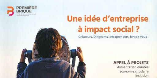 Réunion d'informations : Appel à projets d'innovation sociale