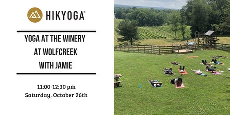 Fall Yoga at The Winery at Wolfcreek with Jamie tickets