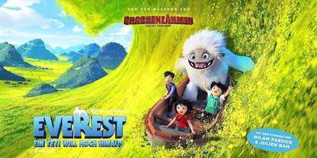 Familienkino: Everest - Ein Yeti will hoch hinaus Tickets