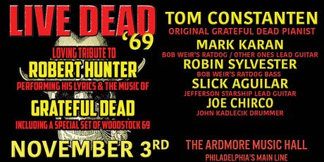 Live Dead '69 ft. Tom Constanten + members of RatDog & Jefferson Starship tickets