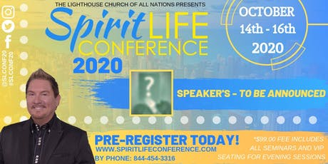 SpiritLIFE Conference 2020 tickets