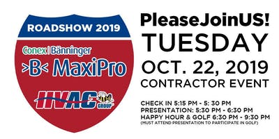 MaxiPro Roadshow 2019 - DFW Top Golf Event