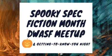 Spooky Spec Fiction Month Meetup tickets