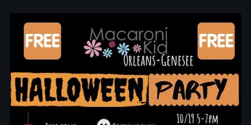 Macaroni Kid Orleans- Genesee FREE Halloween Party!