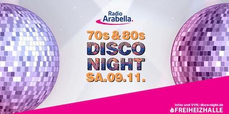 Radio Arabella Disco Night - SA. 09.11. Tickets