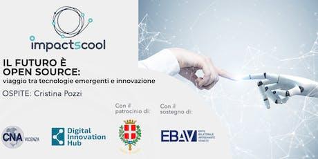 Il futuro è open source  - Viaggio tra tecnologie emergenti e innovazione biglietti