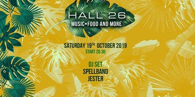 Hall26 Roma Sabato 19 Ottobre 2019 - Music, Food and More