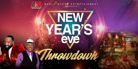 New Years Eve Throwdown tickets