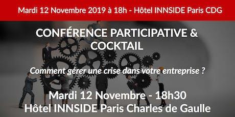 Soirée & Cocktail BUSINESS - Gestion de crise billets