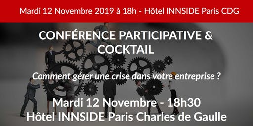 Soirée & Cocktail BUSINESS - Gestion de crise