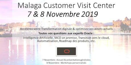 Customer Visit Center Oracle Malaga 2019 entradas