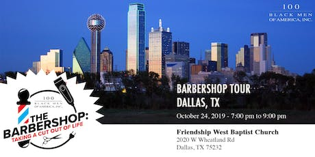 Barbershop Tour: Taking A Cut Out Of Life | Dallas, TX tickets