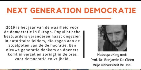 Tegenlicht meet up: Next generation democratie tickets