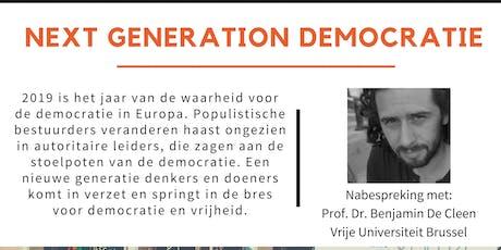 Tegenlicht meet up: Next generation democratie billets