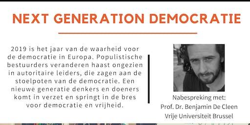 Tegenlicht meet up: Next generation democratie