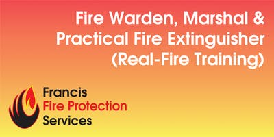 Fire Warden, Marshal & Practical Fire Extinguisher (Real-Fire Training)