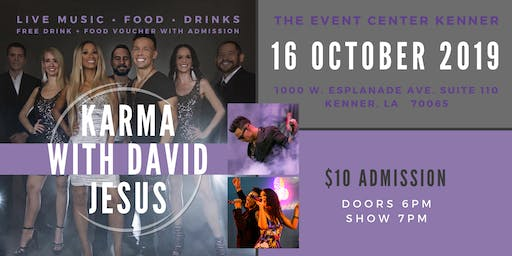 Live Music Wednesday - Karma with David Jesus