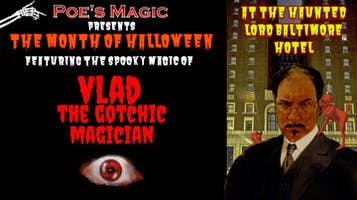 Halloween Magic With Vlad the Gothic Magician