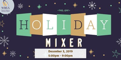 Holiday WBE Mixer & Toy Drive