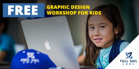 FREE Photoshop Design Workshop for Kids (Ages 7-12) tickets