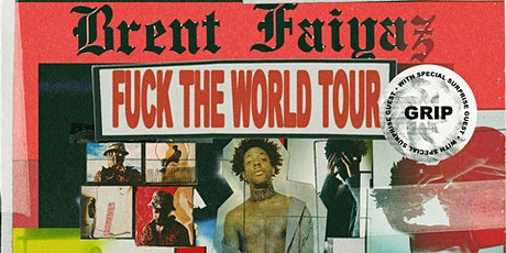 Brent Faiyaz: Fuck The World Tour tickets