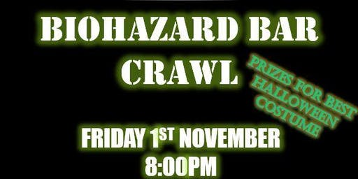 Biohazard Bar Crawl
