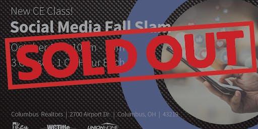 Sold Out! Social Media Marketing Fall Slam