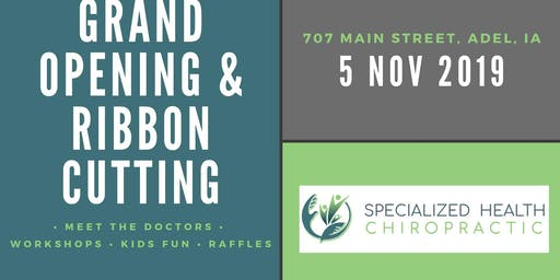 SHC: Grand Opening & Ribbon Cutting