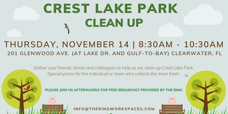 Crest Lake Park Clean Up tickets