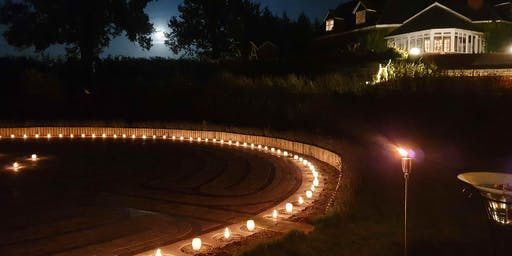 SoundBath, Cacao Ceremony & Candlelit Labyrinth Walk