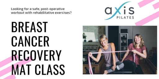 Breast Cancer Recovery Mat Class