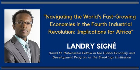 Navigating the World's Fast-Growing Economies: Implications for Africa tickets