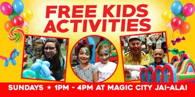 Family Day at Magic City Jai-Alai