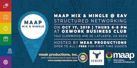 MAAP Mix & Mingle: East Atlanta Village tickets