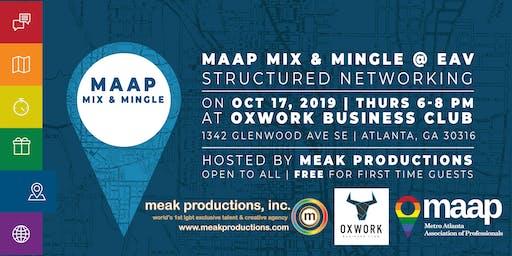 MAAP Mix & Mingle: East Atlanta Village