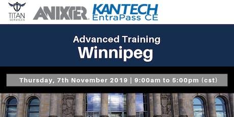 Winnipeg Advanced Kantech Training - Anixter tickets