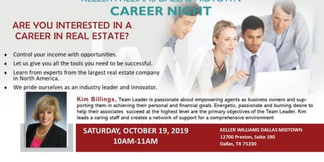 Real Estate Career Planning Event tickets