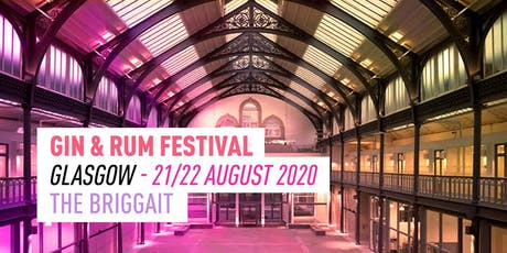 The Gin & Rum Festival - Glasgow - 2020 tickets