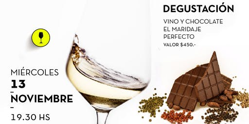 Fusión vino y chocolate!
